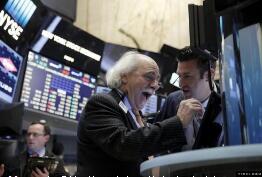 美股三大股指小幅高开,道指涨0.38%